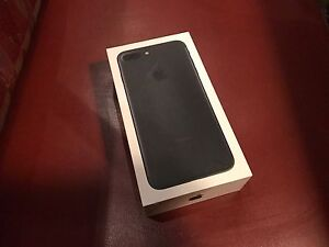 iPhone 7 Plus Matte Black UNLOCKED (NEW AND SEALED)