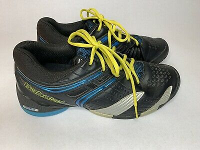 SUPER DEAL - BABOLAT MEN'S TENNIS SHOES BLACK BLUE YELLOW 30F1192 SIZE US 9.5  ()