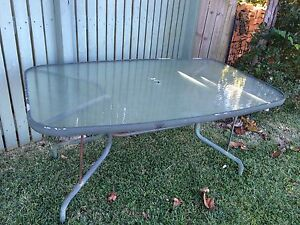 S/H Glass top outdoor table Buderim Maroochydore Area Preview
