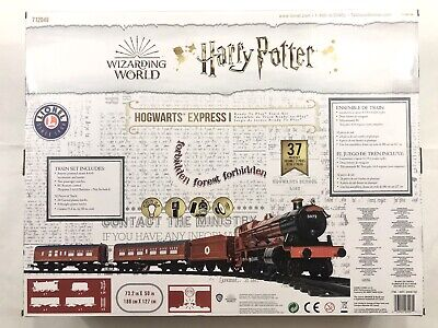 Lionel Harry Potter Hogwarts Express Train Set Ready To Play 7-11960 Battery Pwr