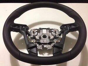 GENUINE-HSV-HOLDEN-VE-SS-HSVi-CARBON-EDITION-LEATHER-STEERING-WHEEL-COMMODORE