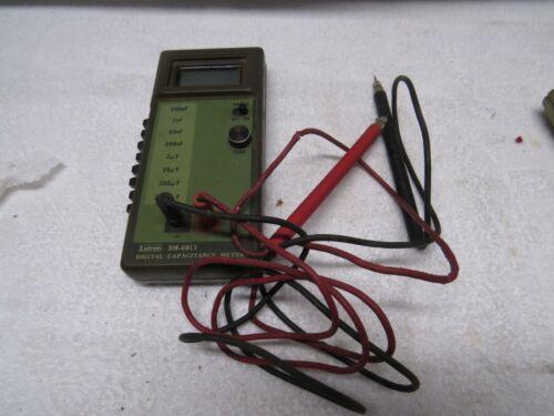 Lutron Digital Capacitance Meter Model DM-6013 FAST SHIPPING!