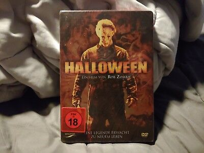 Rob Zombie's Halloween DVD steelbook brand new Michael Myers very rare](Rob Zombie's Halloween Movies)