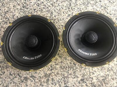Ground Zero Yellow Basket GZCF 8.0SPL 200 mm / 8″ 2-way coaxial speaker system