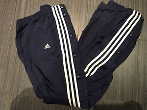 Vintage Adidas Tear Away Pants available in multiple colours