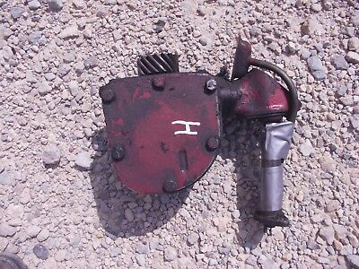 Farmall H Hv Early Sh Tractor Original Ih Engine Motor Governor Assembly Straw