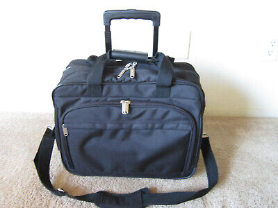 Travelwell Rolling Briefcase Laptop Travel Bag Case Nylon Nice Nylon Rolling Laptop Case