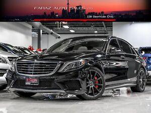 2015 Mercedes-Benz S63 AMG|NIGHTVISION|HUD|DTR+|BURMESTER HIGH E