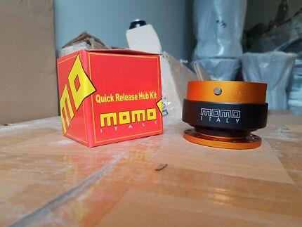 MOMO Quick Release Boss Kit Universal Aluminium Steering Wheel Hu