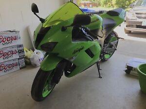 2008 Kawasaki ZX6R