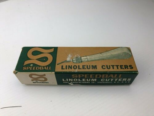 Vintage Speedball linoleum cutter No. 1 - 4131