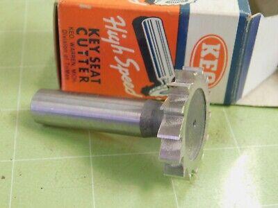 Keo 1-38 X .250 Woodruff Key Seat Hs Cutter 12 Shank 811
