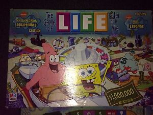 SpongeBob Game of Life Board Game