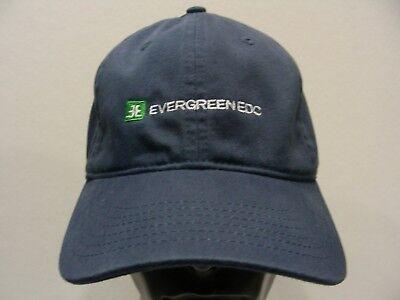 EVERGREEN EDC - NAVY BLUE - ONE SIZE ADJUSTABLE STRAPBACK BALL CAP HAT!](Edc Hats)