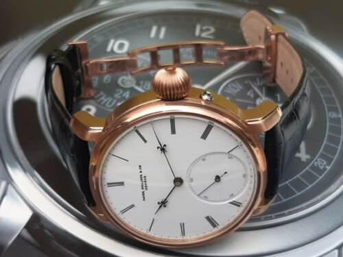 Amazing Patek Philippe repeater 48mm rose gold - watch picture 1