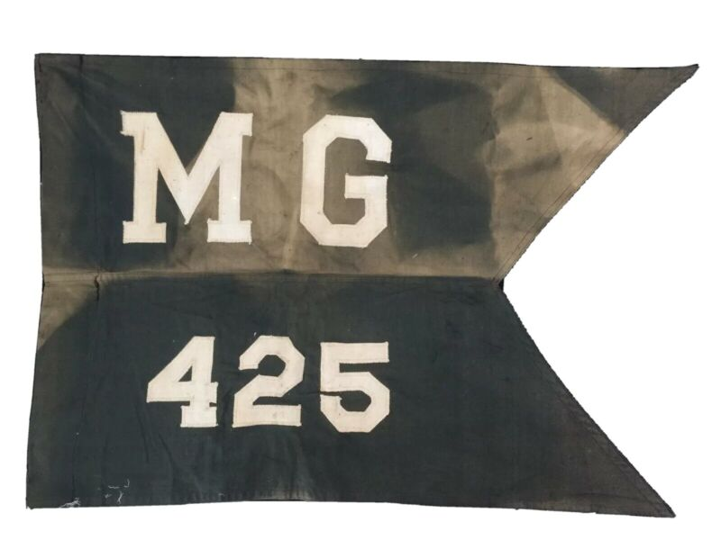WWII M1931 Guidon; 425th Military Government Co., Organized Reserve Corps 1949