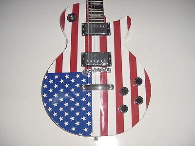 Glen Burton Full Size LP Style Set Neck Electric Guitar US F