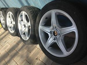Full set of 15 inch alloys Seacliff Park Marion Area Preview