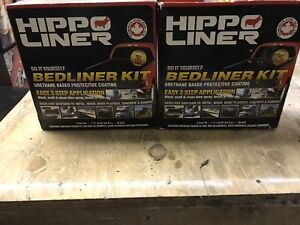 Two complete kits of hippo liners for 150$