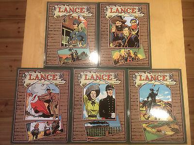 Lance, BOCOLA Verlag, Ein Western-Epos, KOMPLETT, Band 1 + 2 + 3 + 4 + 5, Tufts