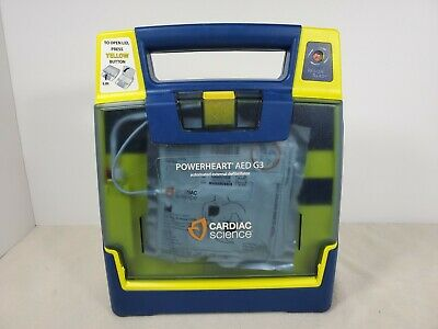 Cardiac Science Powerheart G3 Plus Aed Automatic Wt Pads No Battery