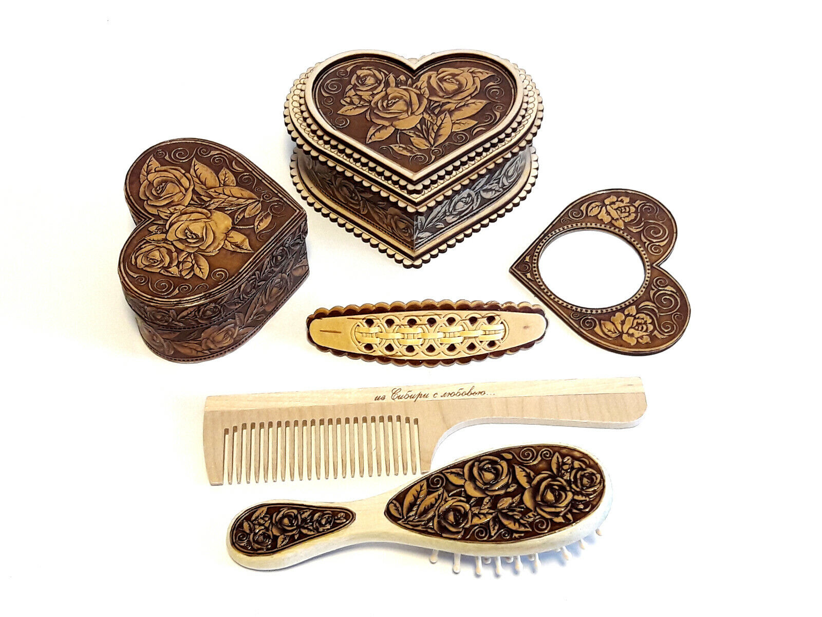 Geschenk Set Damen Set Schatullen Aufbewahrung Set Haarpflege Set Organikprodukt
