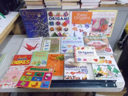 16 ORIGAMI INSTRUCTION BOOKS CLASSIC ANIMAL LOVE NOTES JAPANESE PAPER FOLDING