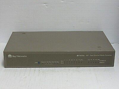 Bay Networks Baystack 30F Fast Ethernet Media Converter 30 950 00213 A   V2 0