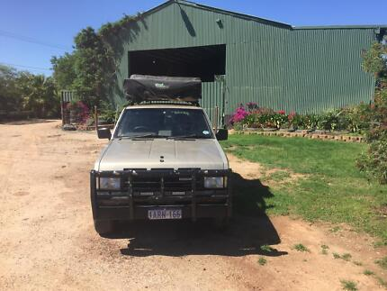 1993 Nissan Terrano Diesel with Rooftent