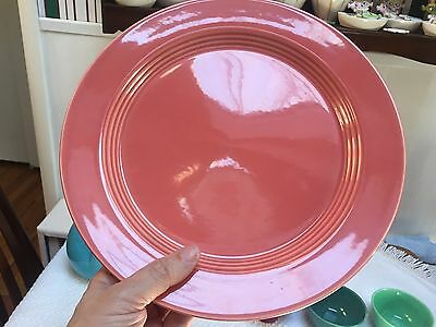 Homer Laughlin Harlequin Round Rose Platter