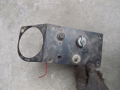 Farmall Tractor Original Ih Ihc Dash Bracket Gauge Holder