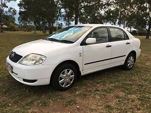 2002 Toyota Corolla Sedan Caboolture South Caboolture Area Preview