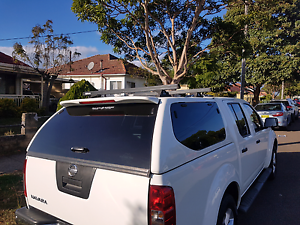 NISSAN NAVARA D40 CANOPY STILL IN NEW CONDITION Homebush West Strathfield Area Preview