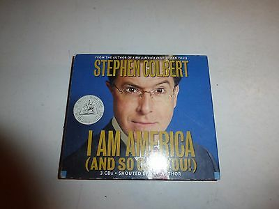 I Am America  And So Can You    Audio  By Stephen Colbert  Cd 167
