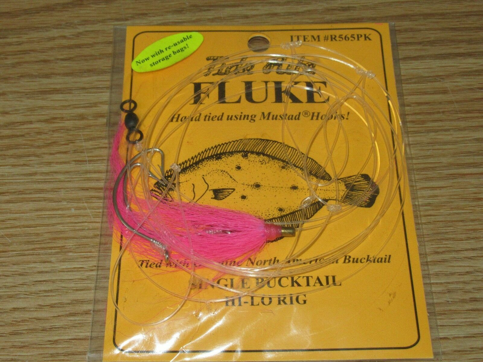 6 FLUKE RIGS FLATFISH TIDE RITE R565PK FLOUNDER SALTWATER RIG FISHING MUSTAD