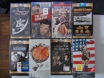 Best Picture Winners   All New   12 Vhs Tapes   Free Shipping