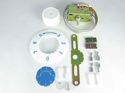 K50P-1102 Refrigeration Thermostat for Dual Temperature Equipments. (Double Thermostat Refrigerator)