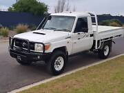 2008 TOYOTA LANDCRUISER WORKMATE VDJ79R LOW KMS TRAY IMMACULATE Adelaide CBD Adelaide City Preview