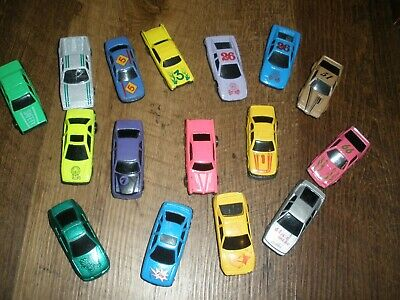 Toy cars Unknown Manufacturer 1/64 Diecast Car lot 16 Vtg made in china