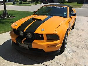 2007 Mustang GT Convertible - Grabber Orange/ Black cloth top