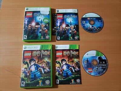 LEGO Harry Potter: Years 1-4 & 5-7 (Microsoft Xbox 360, 2010) ~ 100% Complete!
