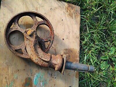 Set Of 2 - Vintage Cast Iron Casters 6 Od 1 -18 Wide