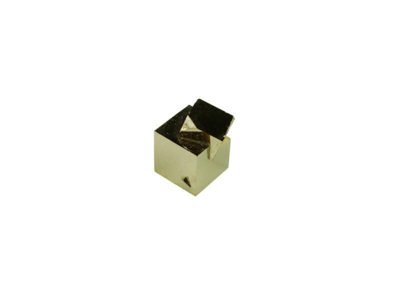 Navajun Spain Mine - Pyrite Cube Crystal With Display Case-#PC20
