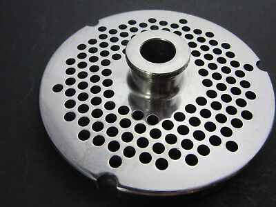 52 X 316 4.5 Mm Holes Stainless Meat Grinder Disc Plate For Hobart Biro Berkel