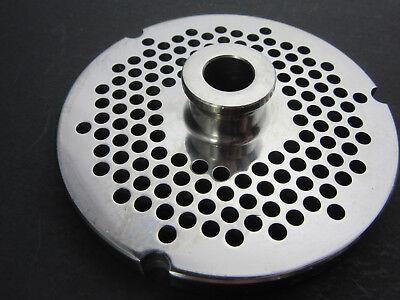 52 X 316 4.5 Mm Holes Stainless Meat Grinder Disc Plate For Hobart Biro Berkel