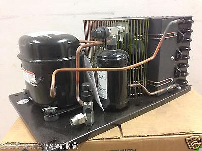 New Indoor 14hp Tecumseh Condensing Unit 115v Low Temp 404a Aea2410zxaxc