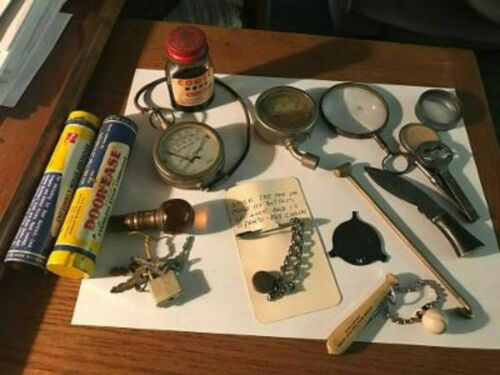 Lot Of 15 Miscellaneous Vintage Collectible Odds & Ends