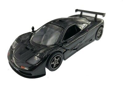 """5"""" Kinsmart 1995 McLaren F1 GTR Diecast Model Toy Car 1:34 Black, used for sale  Shipping to Canada"""