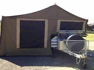 Camper Trailer - Ex condition - heavy duty canvas no leaks Hillsdale Botany Bay Area Preview