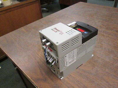 Allen-bradley Powerflex 40p Ac Drive 22d-d1p4n104 0.5hp 3ph Used